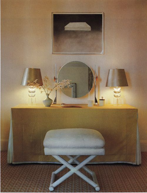 Architectural Digest, New York Interiors, 1979 - looks like it could be from today. Love!