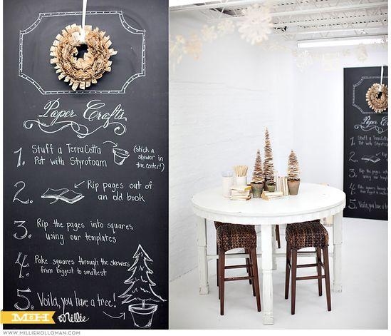 DIY_paper christmas tree