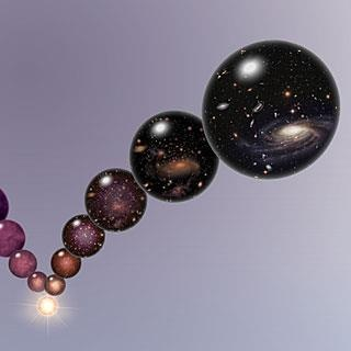 The big bang may not have been the beginning of the universe, but merely the beginning of one of an infinite series of universes. Two fundamental concepts in physics, both of which explain the nature of the Universe in many ways, have been difficult to reconcile with each other
