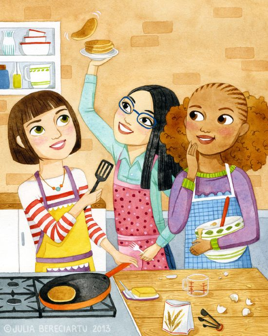 Cooking Club book cover (via Juliabe)