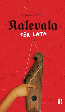 book cover, kalevala för lata