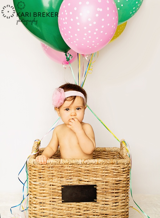 1st birthday picture