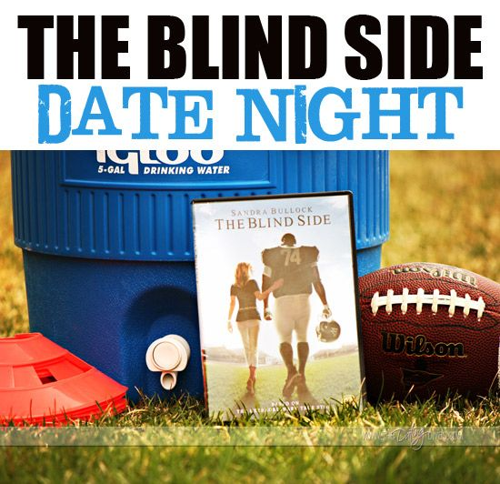 Fun tips for turning movie night into date night with The Blindside!  www.TheDatingDiva... #datenight #dateideas #datingdivas