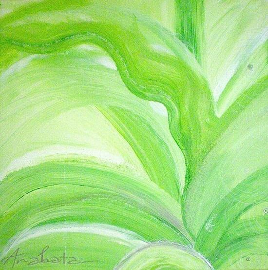 ANAHATA #abstract #painting #art