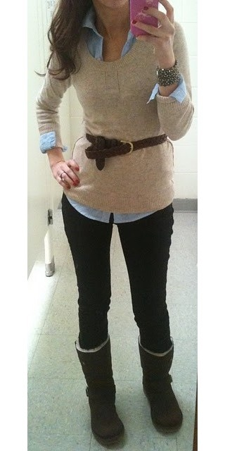 need this as a teacher outfit! but with different shoes, flats or boots.
