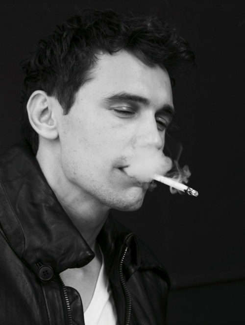 If I could be any celebrity for a day, it'd probably be James Franco. He does it all.