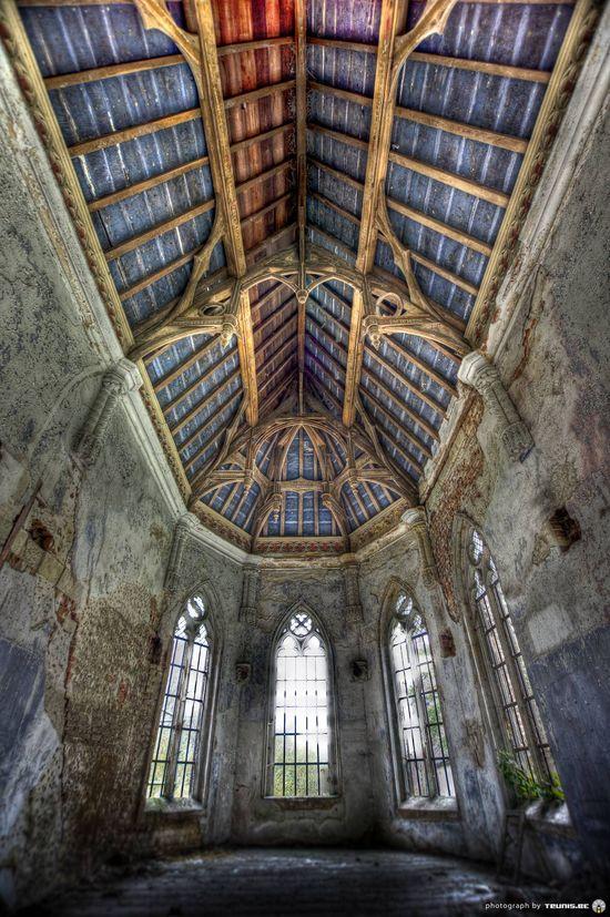 Beautiful abandoned church