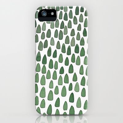 forest pattern iphone cover