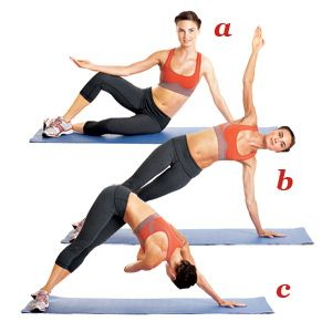 Pilates Exercises for all of you who want those flat abs!
