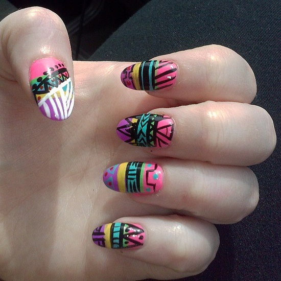 bl0ndii3's nails! Show us your tips—tag your nail photos with #SephoraNailspotting to be featured on our social sites!