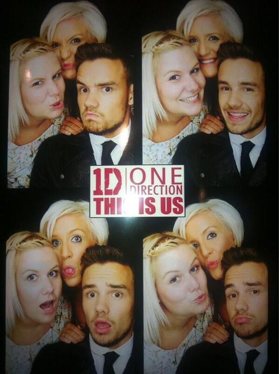 Ruth, Nicola (Liam's Sisters) and Liam