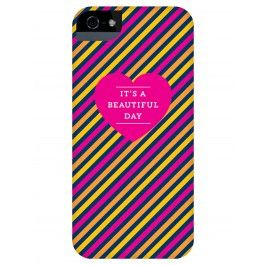 it's a beautiful day iphone case by Delphine