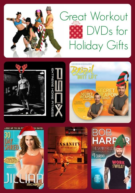 Workout DVDs for Holiday Gifts #gifts #fitness #workout