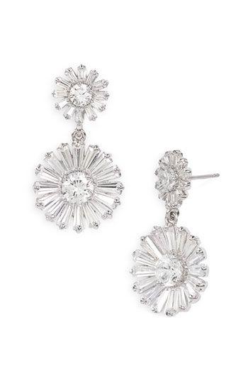 kate spade new york 'crystal gardens' drop earrings