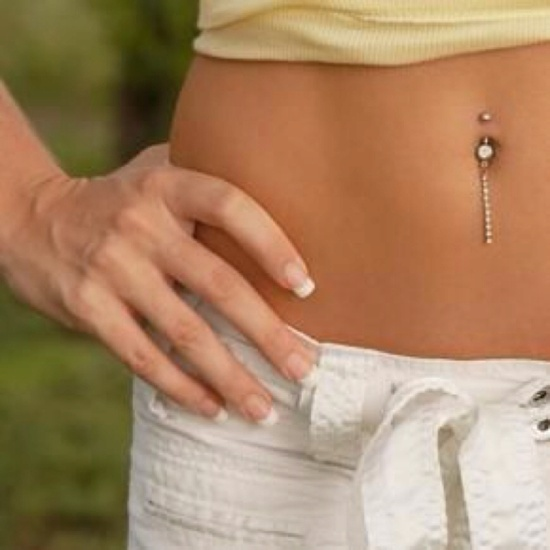 I WANT MY BELLY BUTTON PIERCED ?