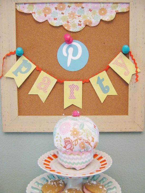 Look at this Pinterest Party! Get those projects you pin done at a party with your friends! Lots of Really Cute Ideas via Kara's Party Ideas