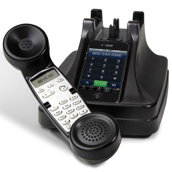 The iPhone Cordless Handset - Hammacher Schlemmer