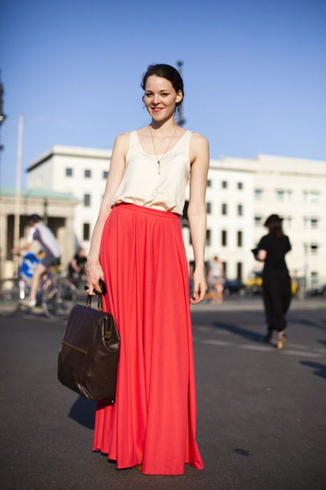 Maxi Skirt DIY Inspo. I want a long skirt!!!