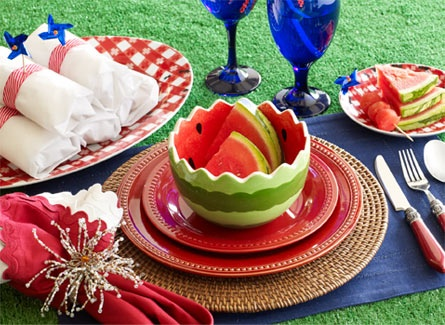 fourth of july, memorial day, labor day entertaining