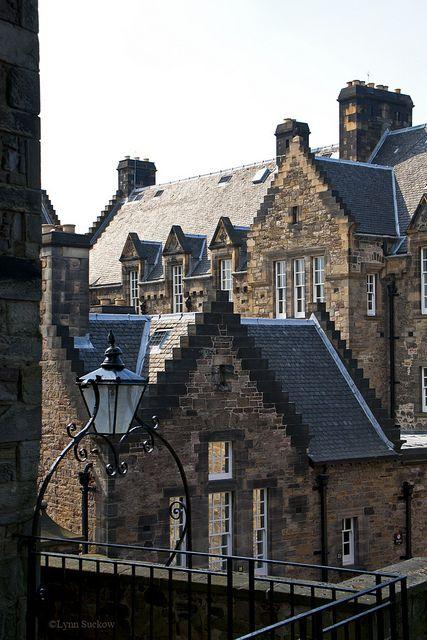 Hospital at the castle. Edinburgh Castle, Scotland