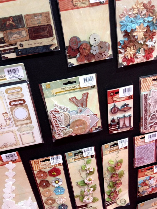 New Prima CHA - En Francais Collection Embellishments - Scrapbook.com