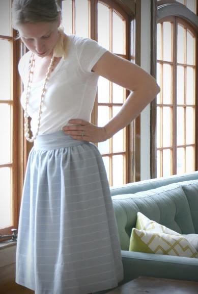 DIY: BlogHer Gala Skirt