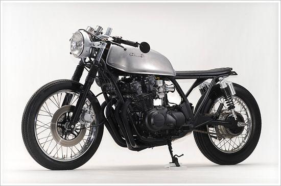 "Steel Bent Custom's '81 Honda CB750-""Janica"" - Pipeburn - Purveyors of Classic Motorcycles, Cafe Racers & Custom motorbikes"