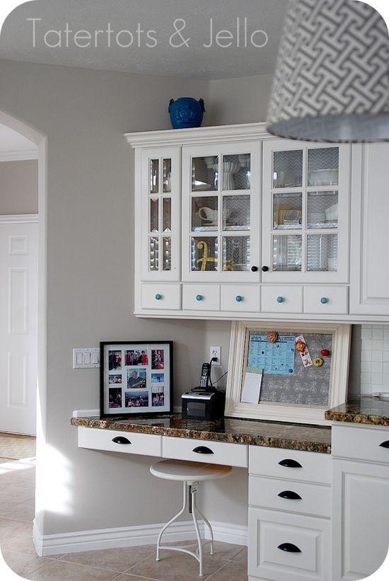 kitchen desk far