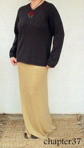 Knit Skirt Tutorial