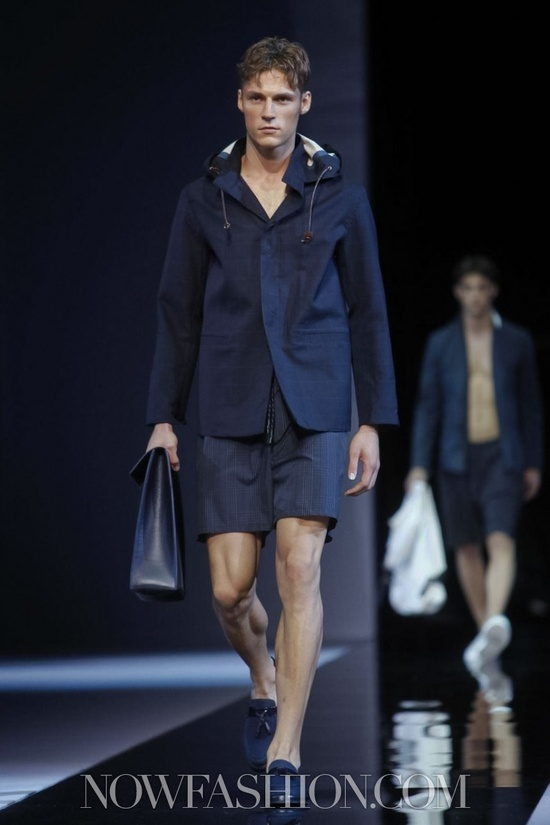 Emporio Armani Menswear Spring Summer 2013 Milan