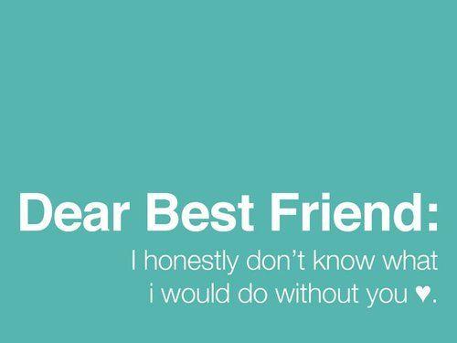...love my best friend....