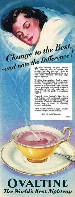 Change to the best! #vintage #Ovaltine #food #ads #1950s
