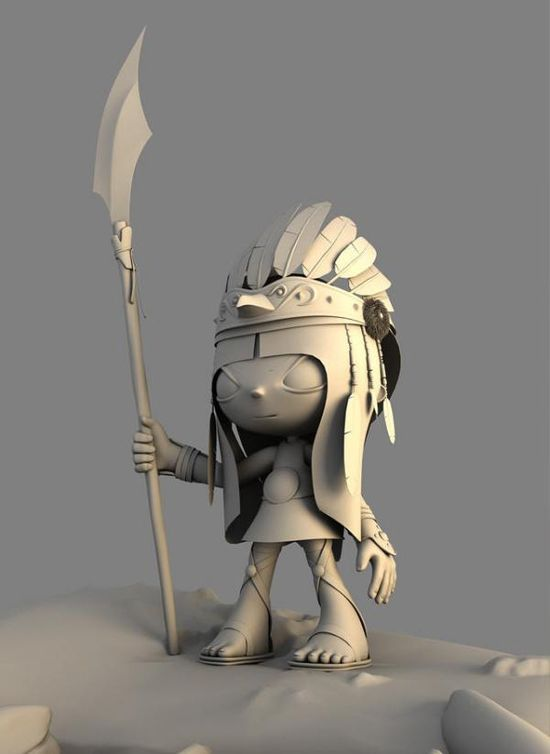3D Cartoon Characters by Hossein Afzali
