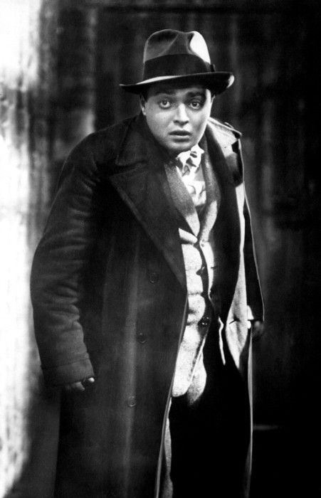 Peter Lorre in M (Fritz Lang, 1931)  Haunting movie.