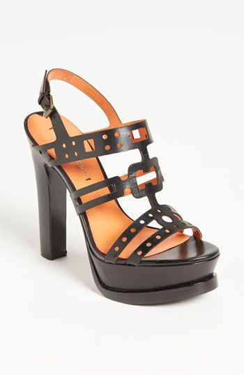 This black Via Spiga sandal is a showstopper.