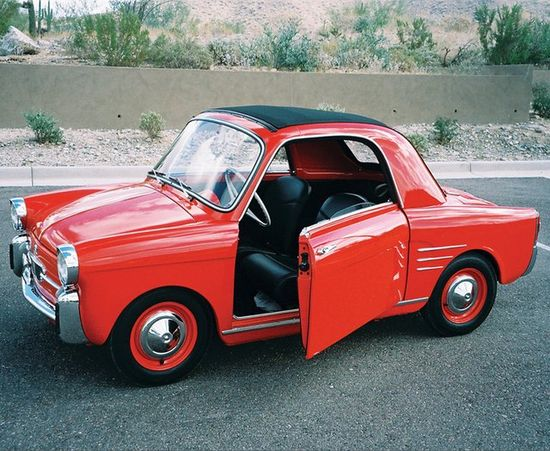 Cute little car...