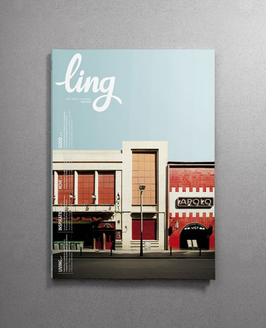 www.santsserif.es    Santos Henarejos    ling  Redesign of Ling, the inflight magazine of vueling.