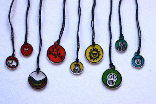 DIY: Shrink Jewelry