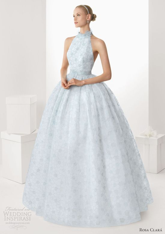 rosa-clara-2013-bisel-light-blue-wedding-dress-halter-neck-ball-gown