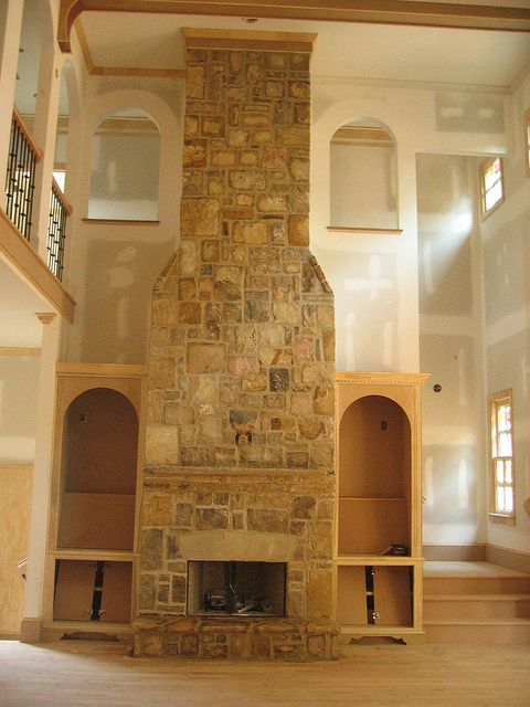 crab ashlar fireplace mortar joint luxury stone fireplace luxury stone fireplace #luxury #stone #fireplace