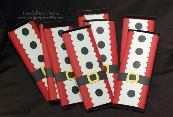 Christmas candy-bar sliders