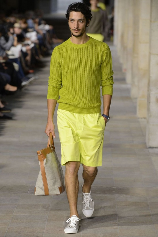 Hermes Spring-Summer 2013 Paris Men's Fashion Week ~Luxurious Punch