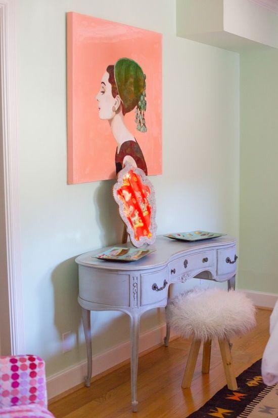 Bedroom design by Bailey McCarthy www.peppermintbli...