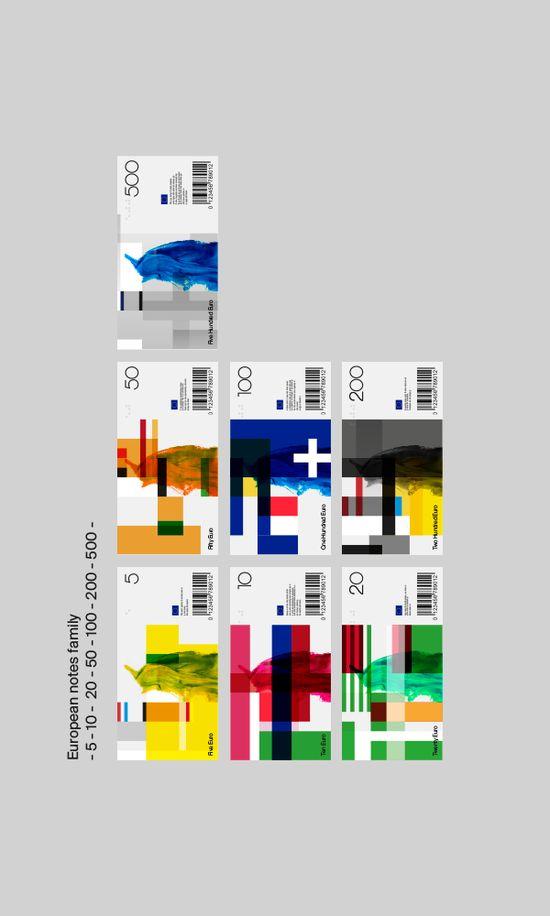 Euro bill. Concept