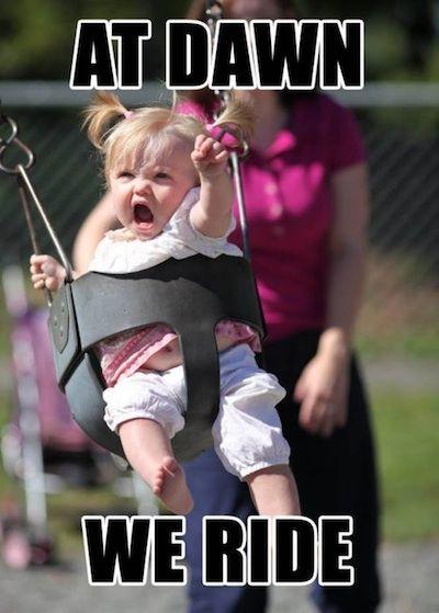 Mini Braveheart? Hahaha