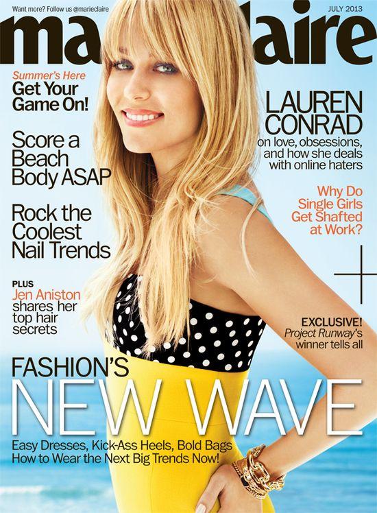 Lauren Conrad's Marie Claire cover