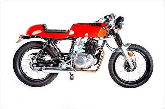"Garage Project's Yamaha SR250 -""Lunacy"" - Pipeburn - Purveyors of Classic Motorcycles, Cafe Racers & Custom motorbikes"