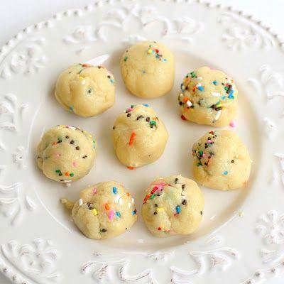 Cake Batter Truffles