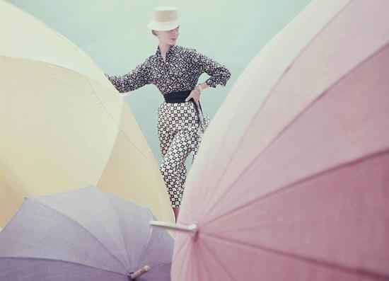 umbrellas #vintage #pastels