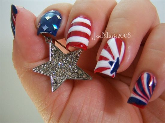 Memorial Day Nail 2013 by jaemarie2008 - Nail Art Gallery nailartgallery.na... by Nails Magazine www.nailsmag.com #nailart #fourth #of #july #fourthofjuly #party #idea #ideas #funideas #coolideas #food #foodie #yum #independence #day #family #fun #cookout #cookouts #grill #dessert #desserts #redwhiteandblue www.gmichaelsalon...